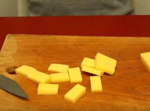 Kotlety z kurczaka z serem