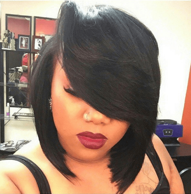 How to Achieve a Banging Bob with a Quick Weave   Voice of Hair How to Achieve a Banging Bob with a Quick Weave