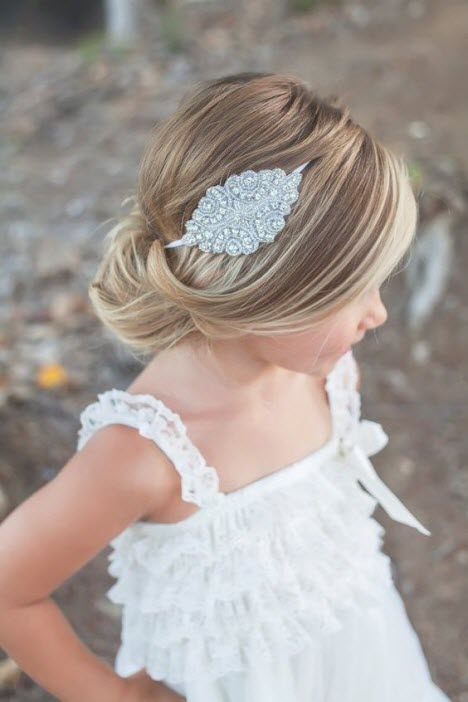 Festive hairstyles for girls