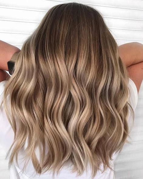 Стильное окрашивание волос Шатуш: тренд 2020