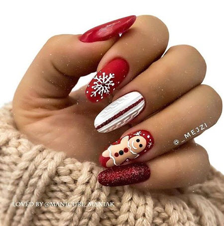 New Year's Manicure 2021