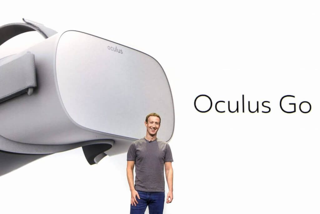 oculus go vr headset mark zuckerberg