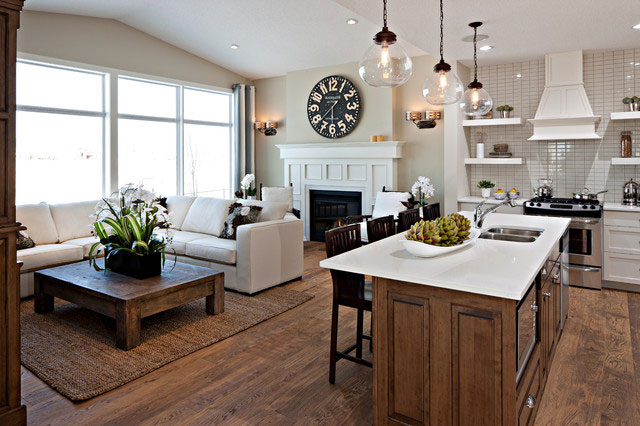Decorating Kitchen Great Room