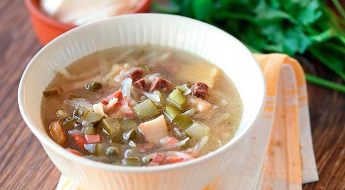 Суп из каперсов