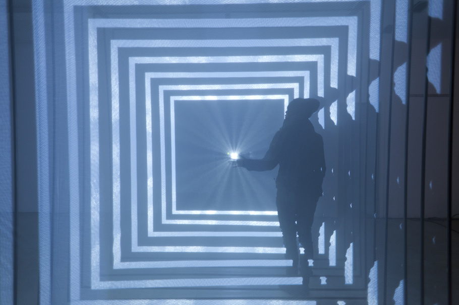 Abstract Audiovisual Installation For The Festival