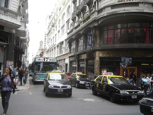 Buenos Plus La 9 La Route Aires Argentine Julio Du De Monde Large