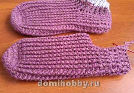 Kravat çorap tığ işi