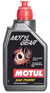 Motul Motylgear 75W-90.