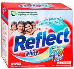 흰색을 반영합니다
