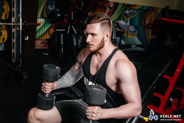 体重薄型メンズの訓練
