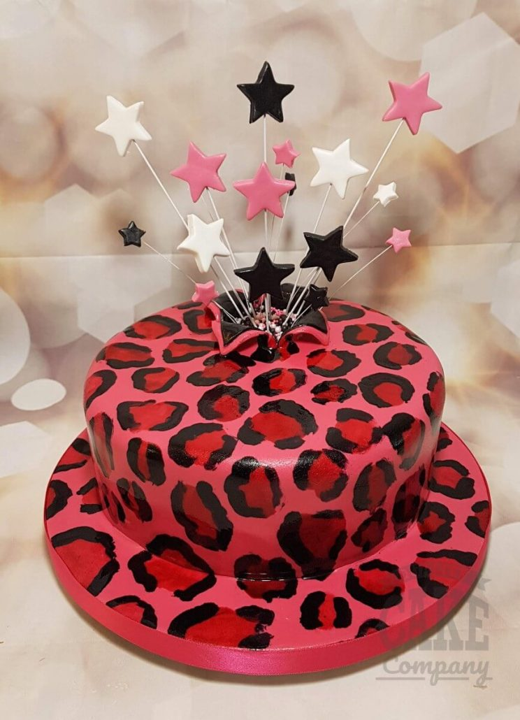 Star Spray Birthday Celebration Cakes Quality Cake