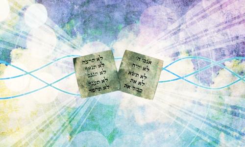 10 commandments 603 mitzvot # 2