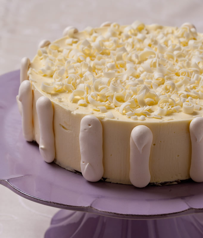 White Chocolate Mousse Cake Ice Cream Mousse Amp Frozen