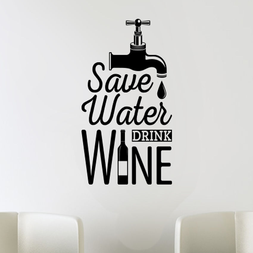 Funny Kitchen Art Wall Decals