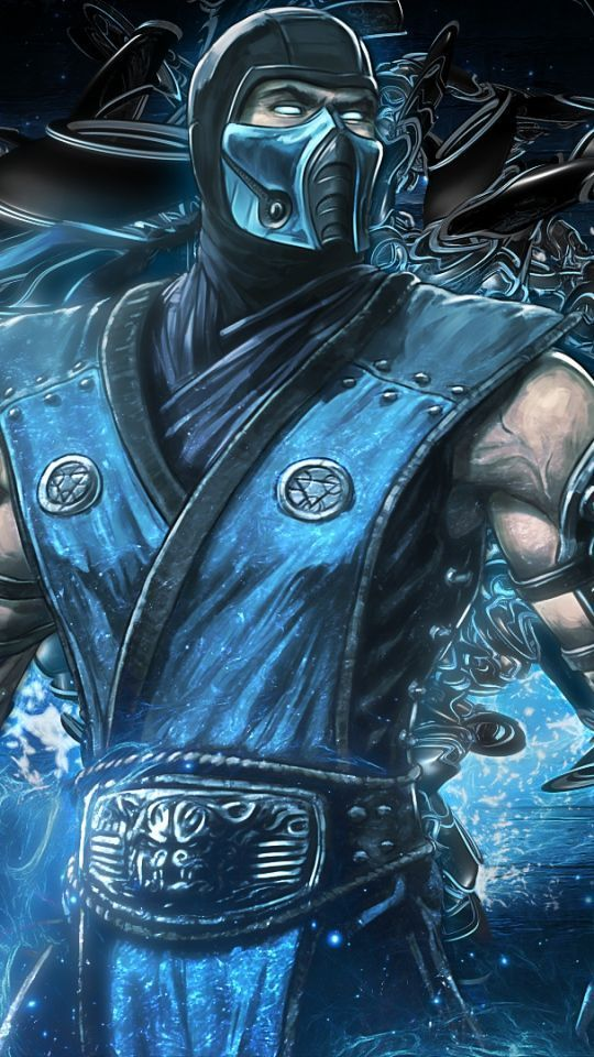 Video Wallpapers Android Group  10   Download Wallpaper 540x960 Mortal kombat  Sub zero  Video game