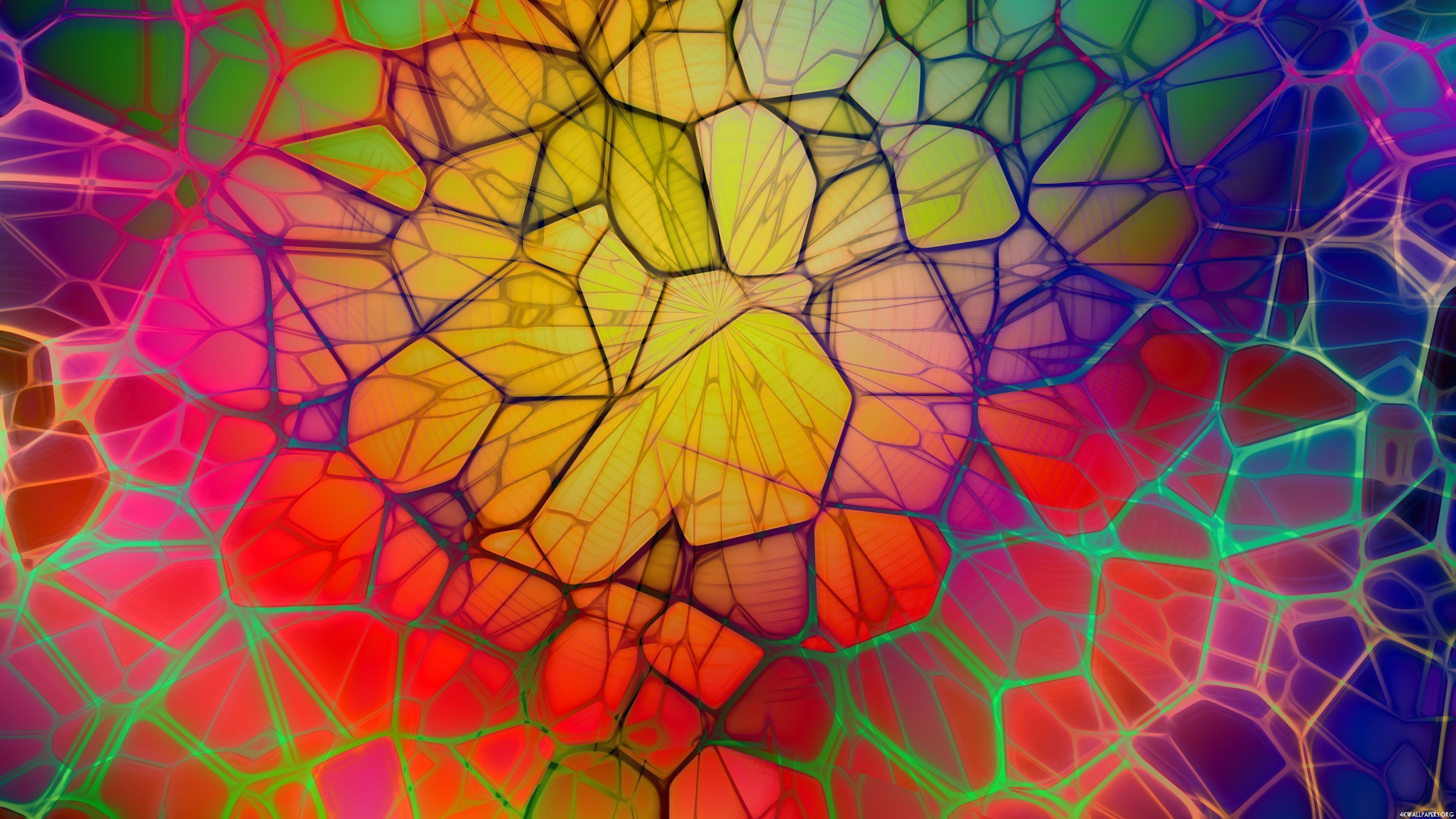 4K Abstract Wallpapers Group  81   Abstract Colorful Web 4K Ultra HD Wallpaper 3840x2160   ID  302