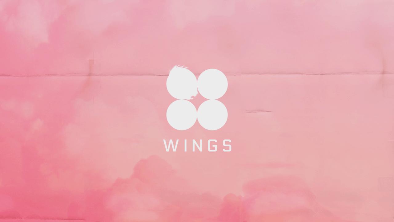 Aesthetic Bts Desktop Wings Wallpaper