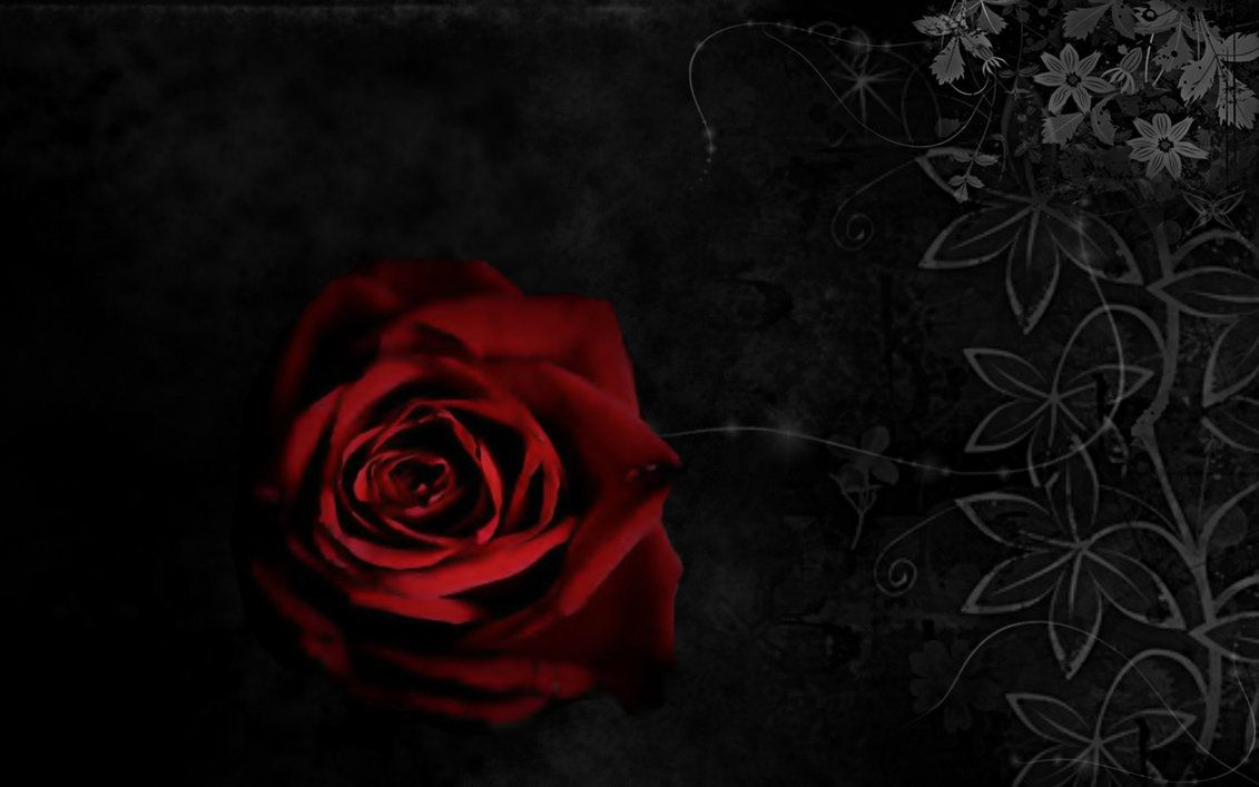 Gothic Red Roses Backgrounds