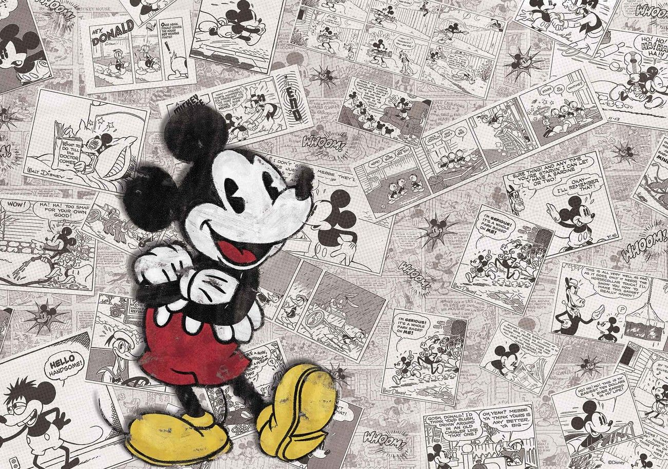 Mickey Mouse Wallpaper Old