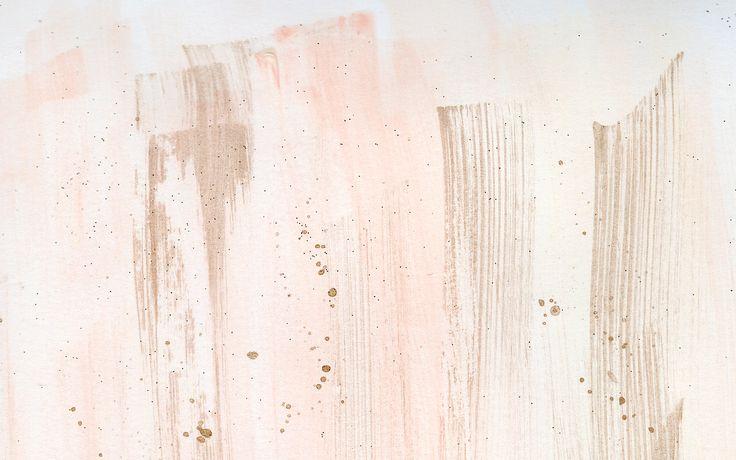 Tumblr Paint Background Stroke Gold Rose