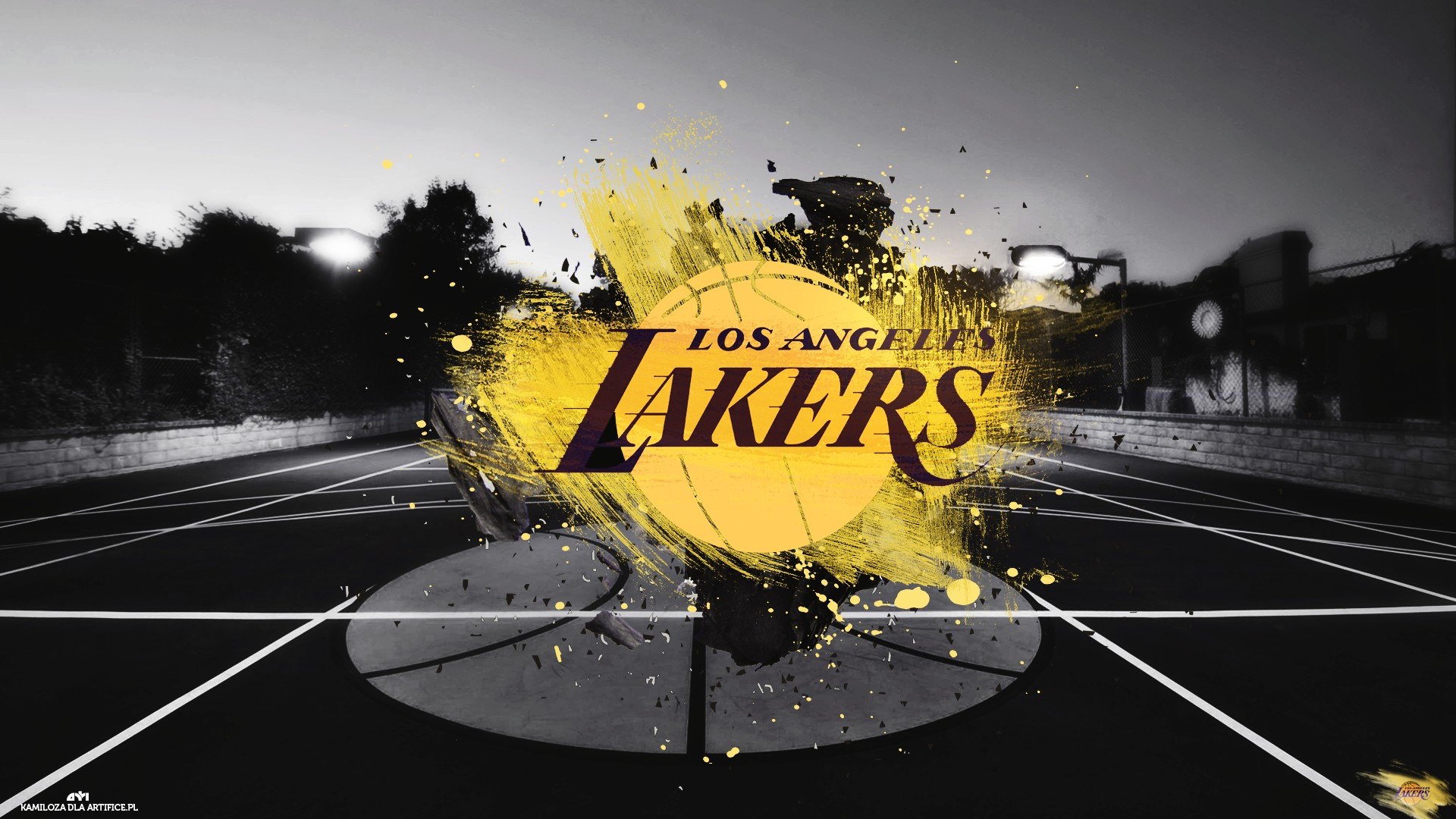 Los Iphone Lakers Wallpaper Angeles
