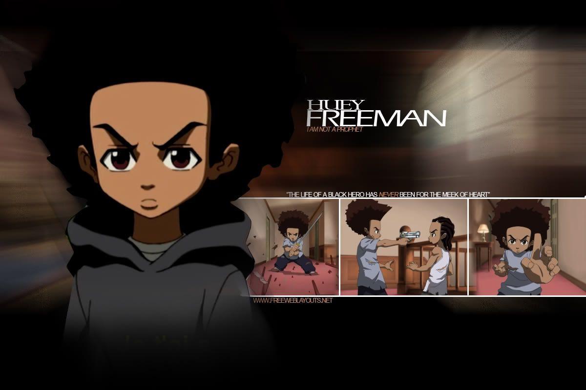 Riley And Huey Freeman Wallpaper
