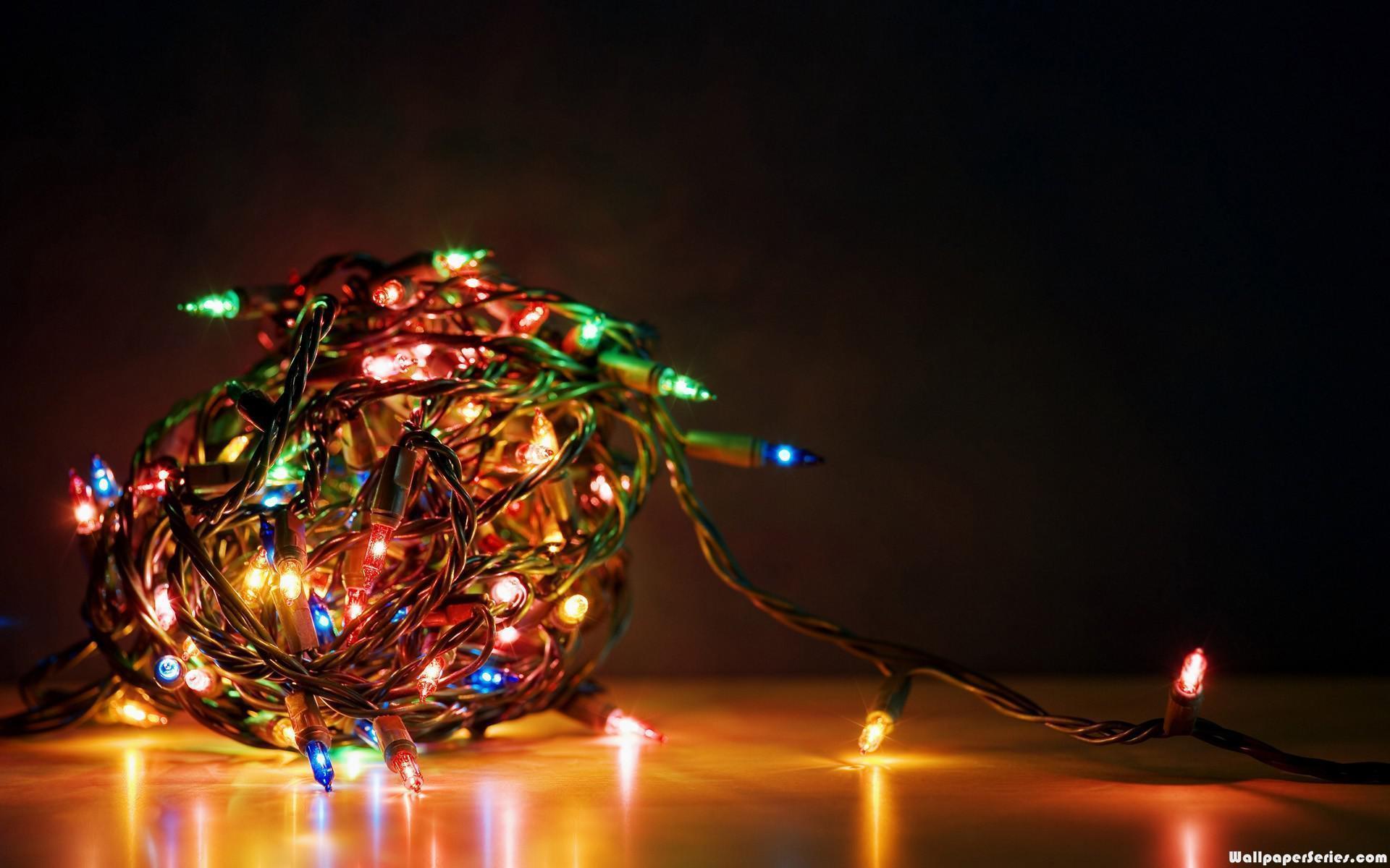 Holiday Desktop Wallpaper Christmas Lights