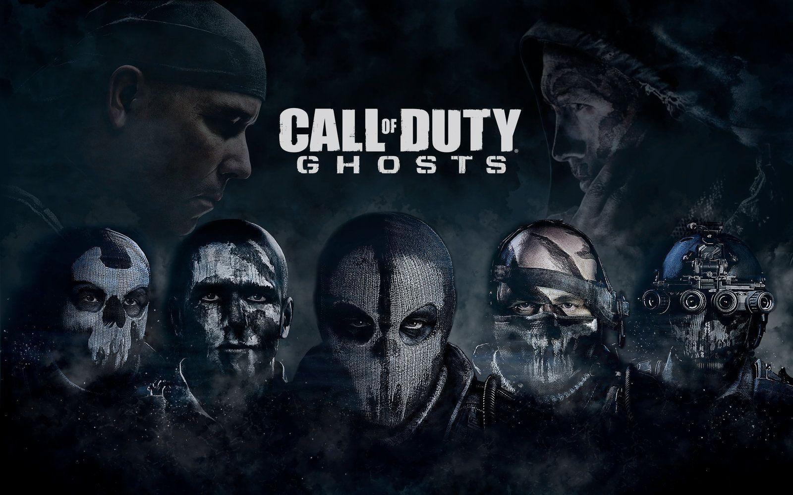 Cod Ghosts Skull Desktop Background