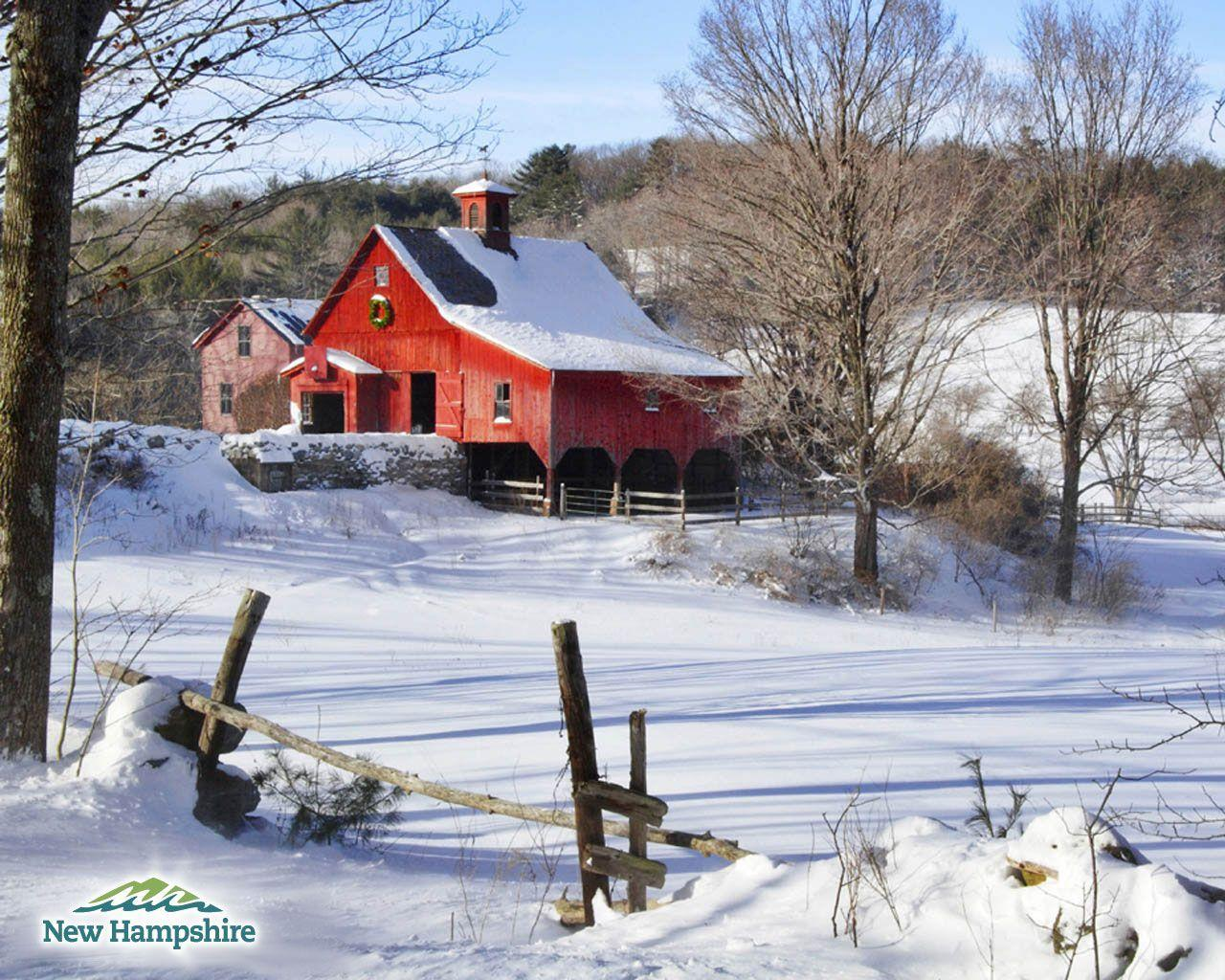 Country Winter Backgrounds