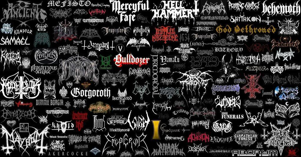 Collage Of Metal And Rock Bands