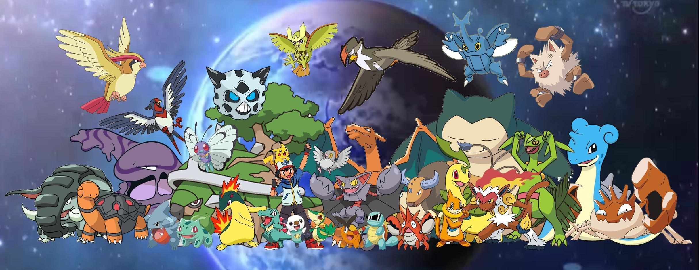 List Names All Pokemon Characters