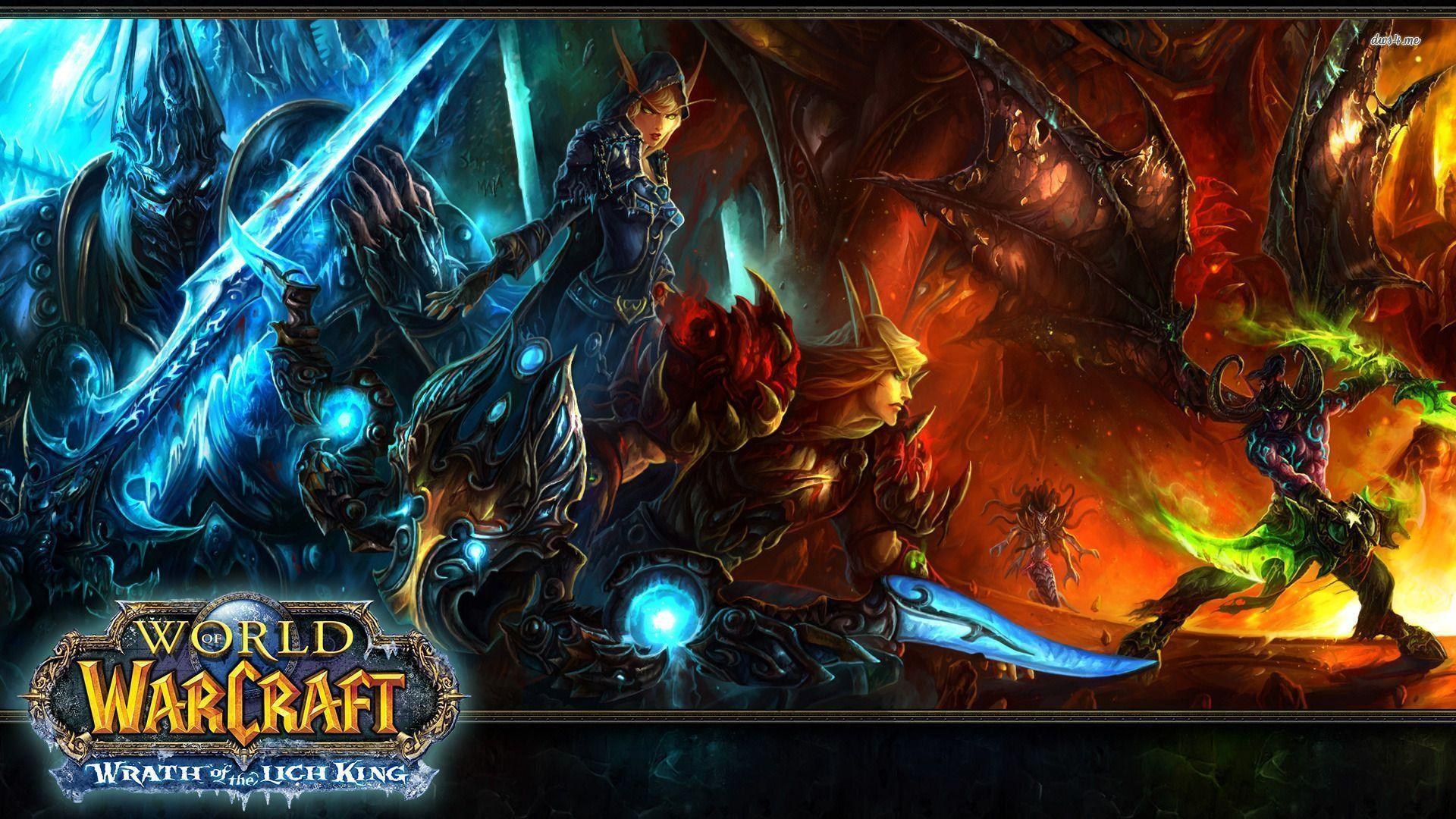 Wallpaper Lich King Wrath Wow
