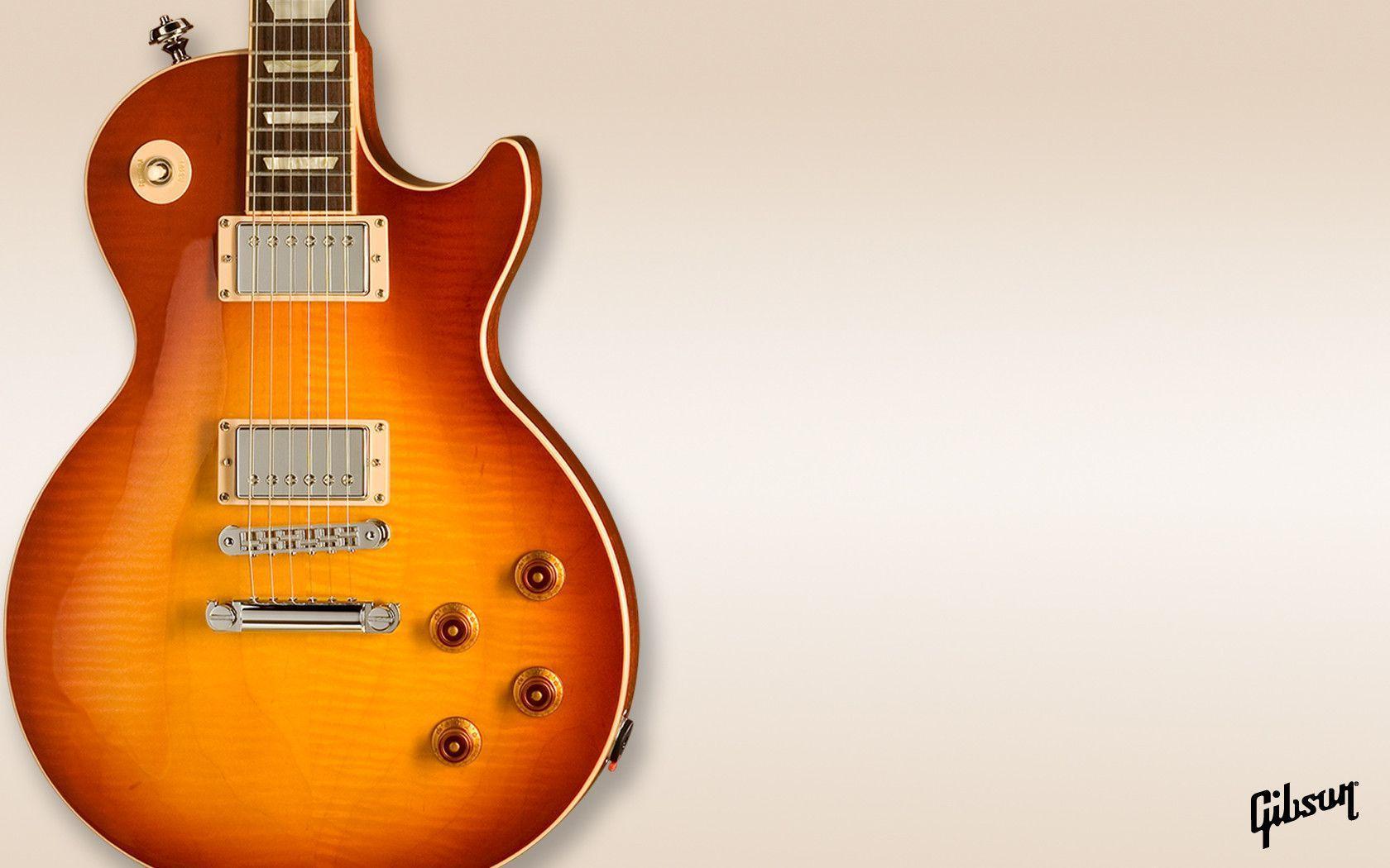 Les Paul Wallpaper Custom Gibson