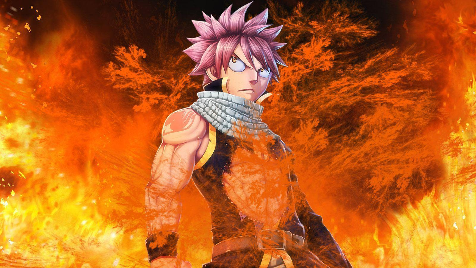 Fairy Tail Natsu Wallpapers - Wallpaper Cave