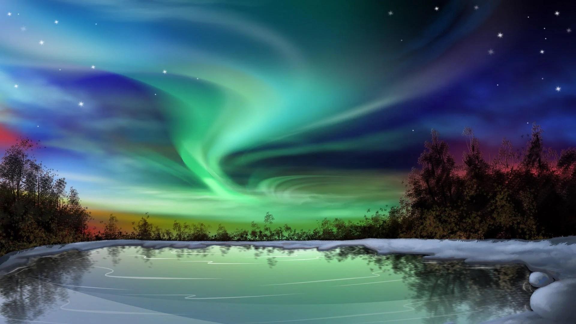 Northern Light Wallpaper