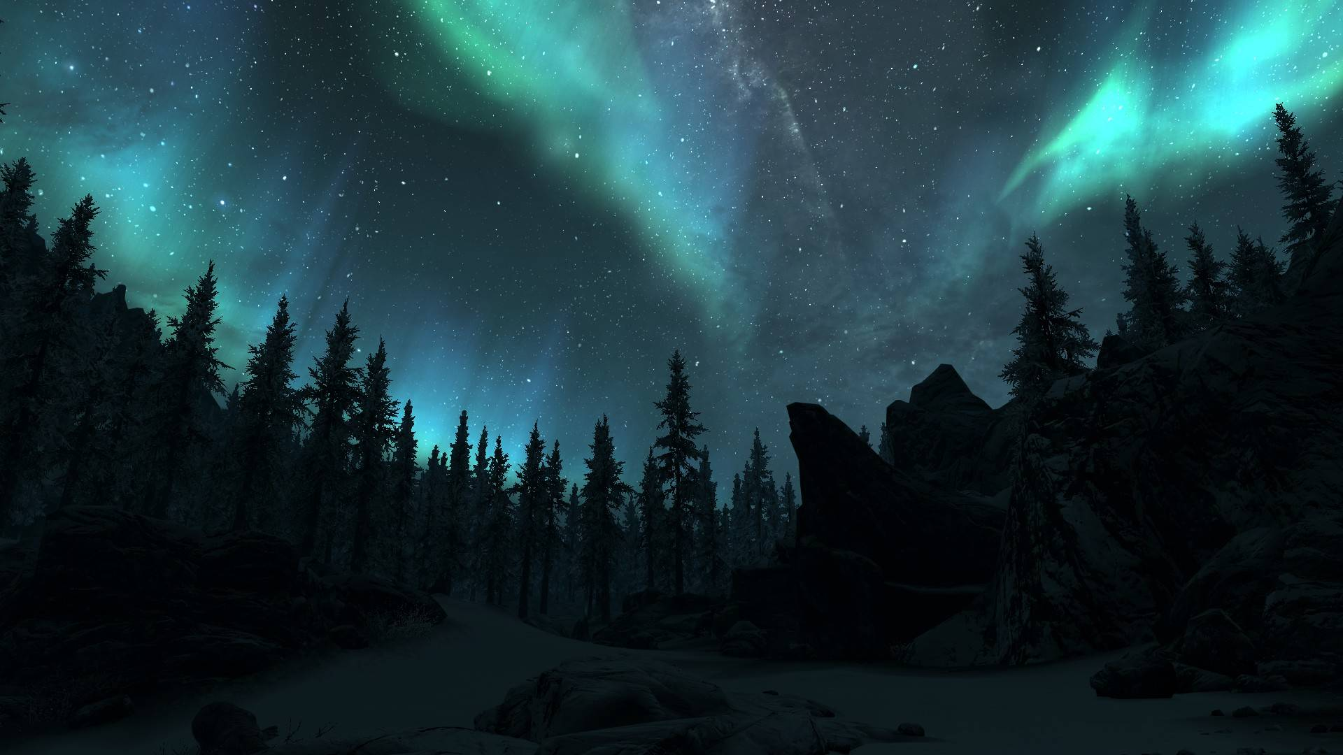Northern Lights Desktop Background