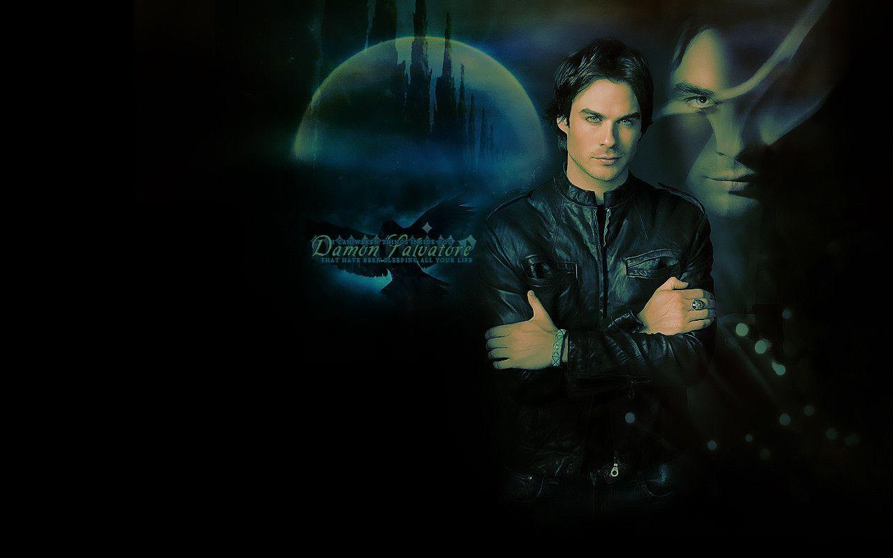 Desktop Damon Salvatore Wallpaper
