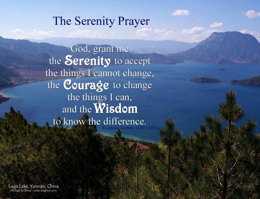 Serenity Prayer Desktop