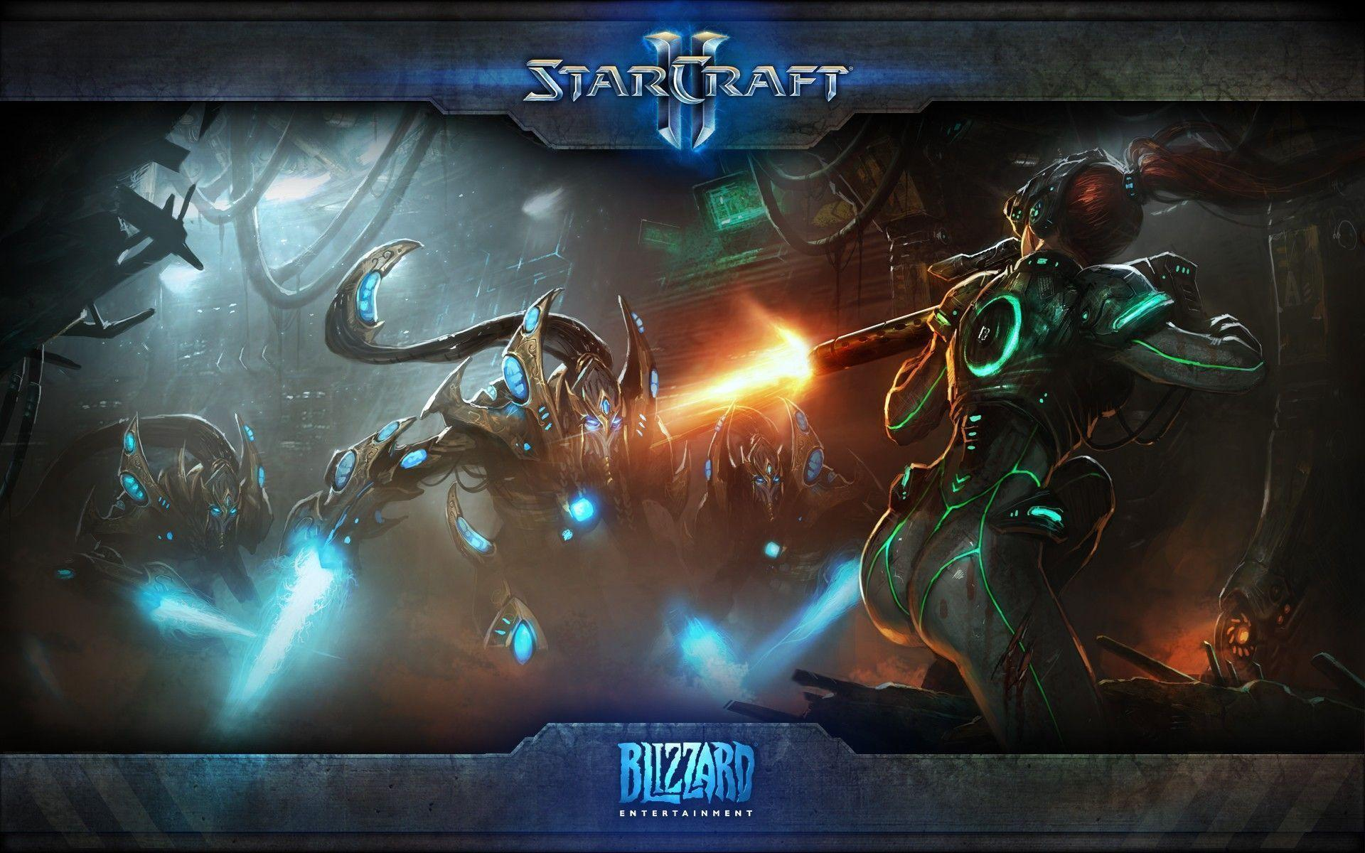 Blizzard Starcraft 2 Wallpaper