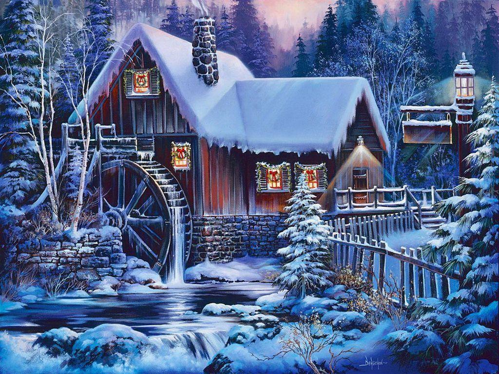 Christmas Wonderland Wallpaper