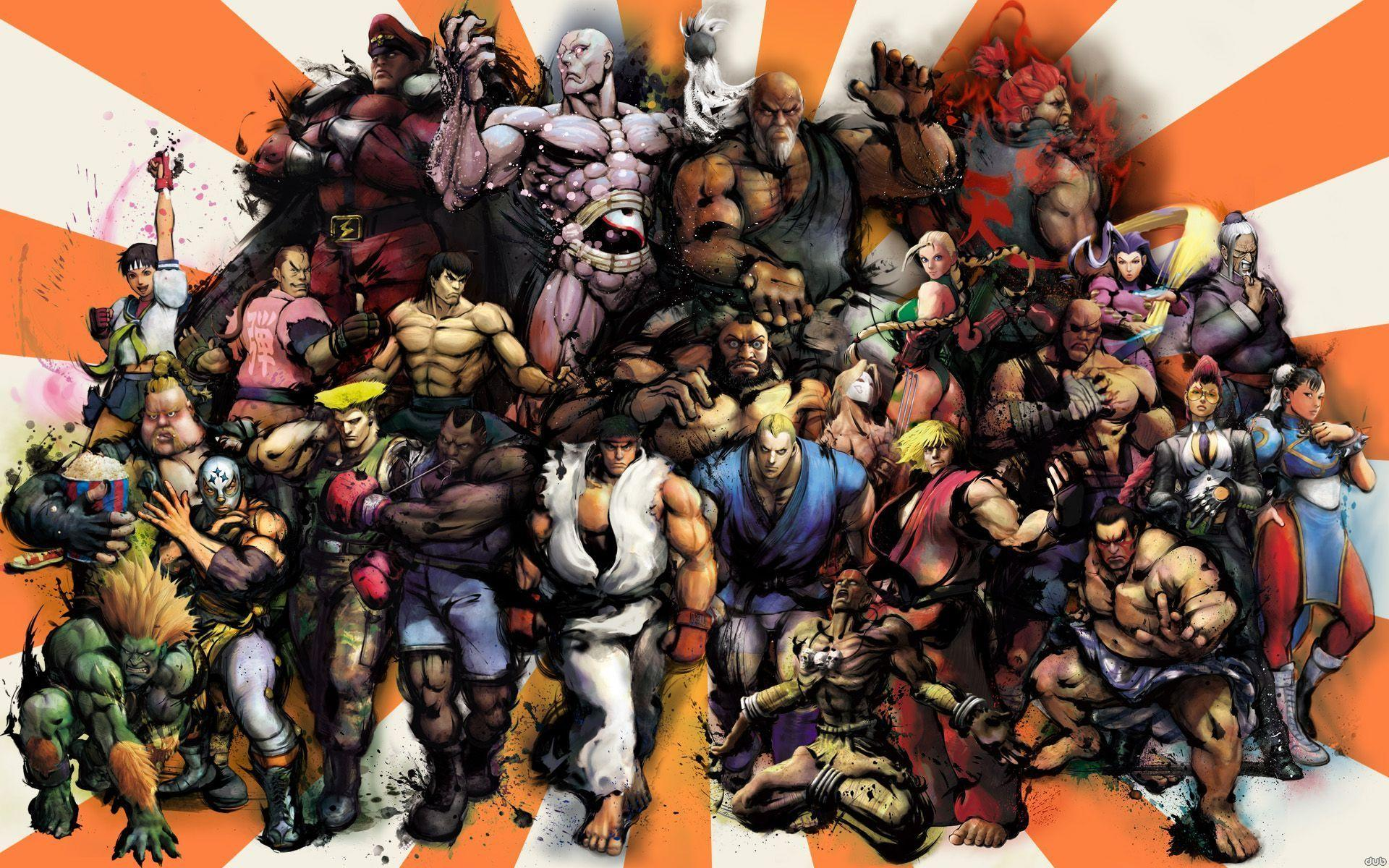 street fighter characters - HD1920×1200