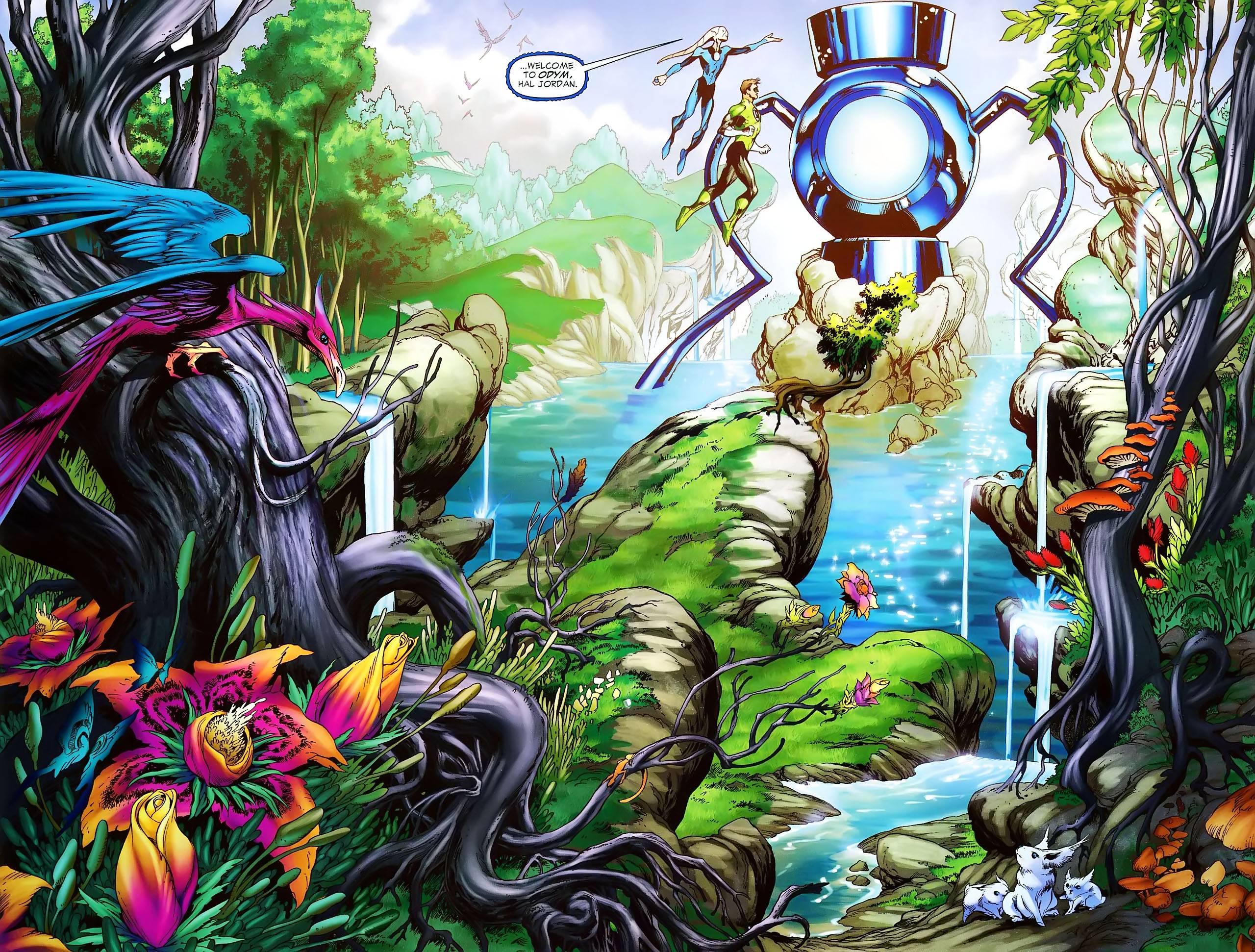 Blue Lantern Corps Wallpaper