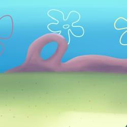 Fish Tank Spongebob Sky Flowers Gardening Flower And Vegetables