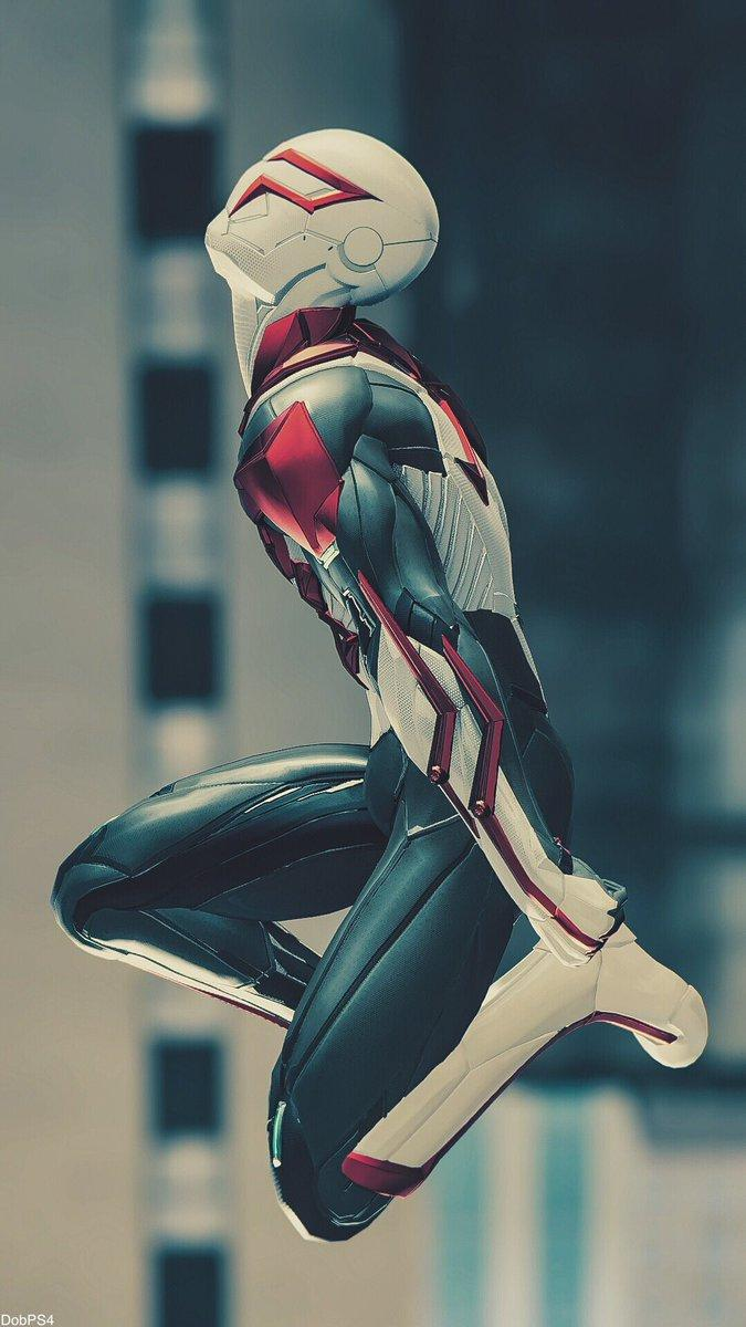 Spider Man 2099 White Suit Wallpapers Wallpaper Cave