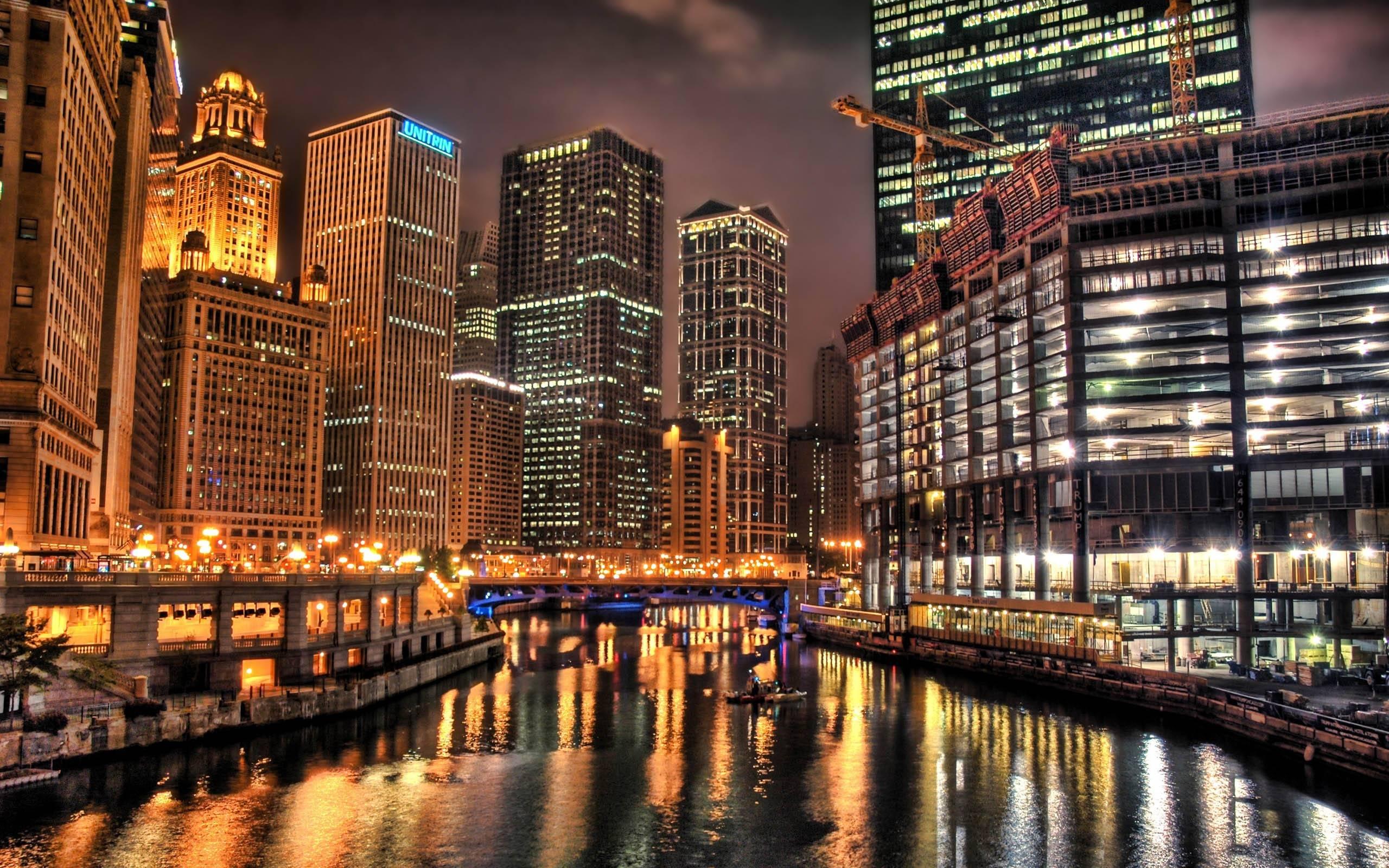 City Lights Hd Wallpaper