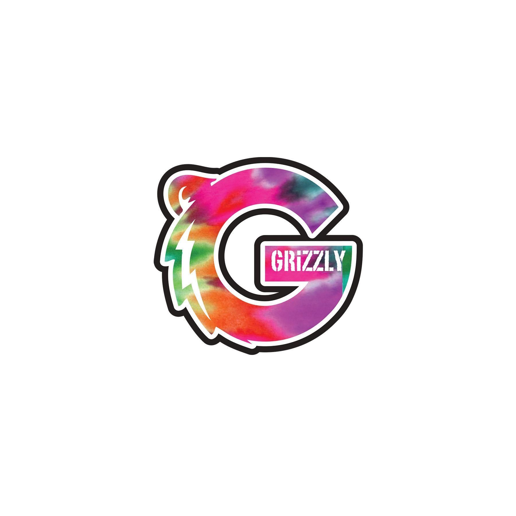 Grizzly Tie Dye Wallpaper