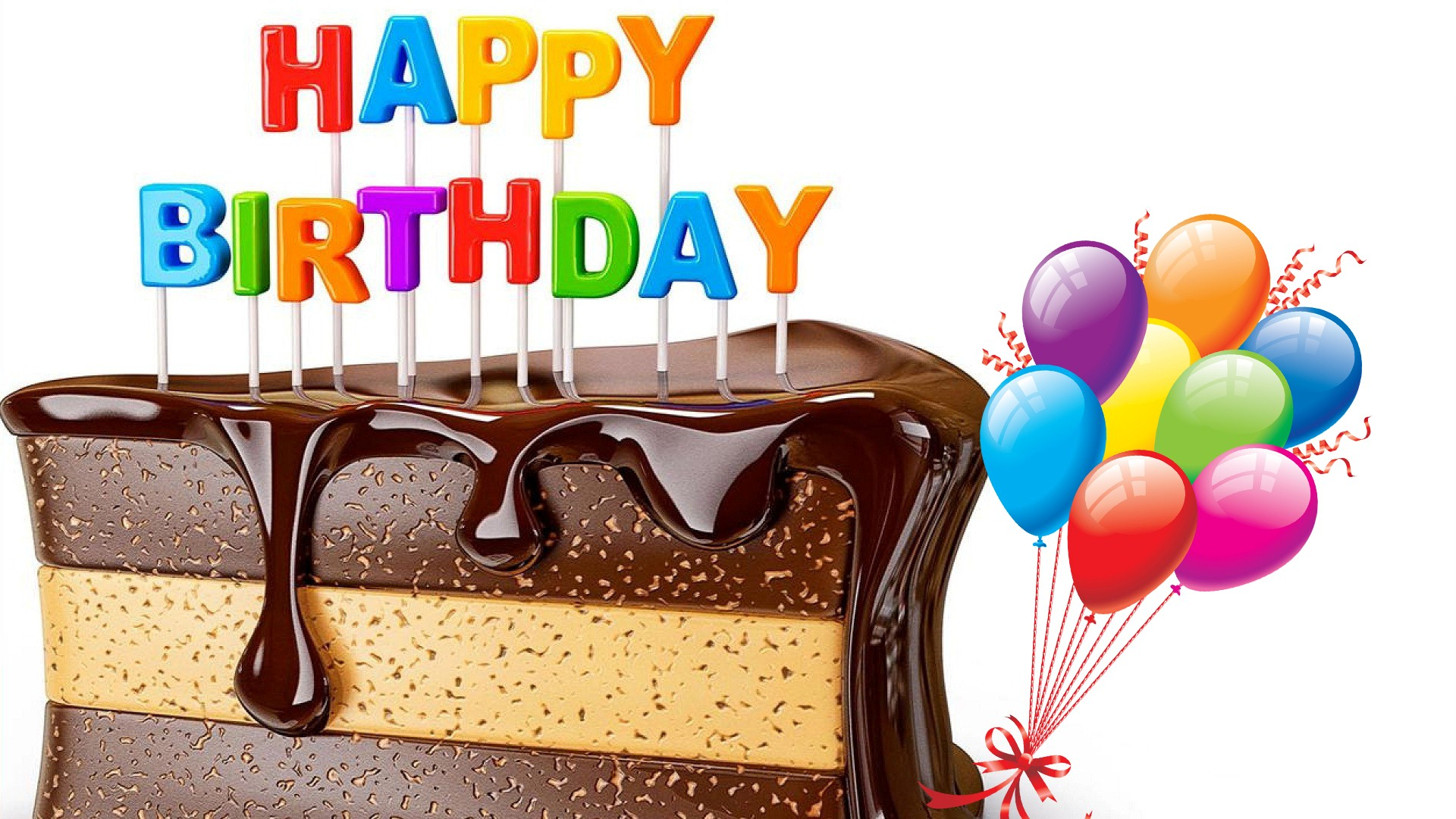 Happy Birthday Cake Hd Wallpaper