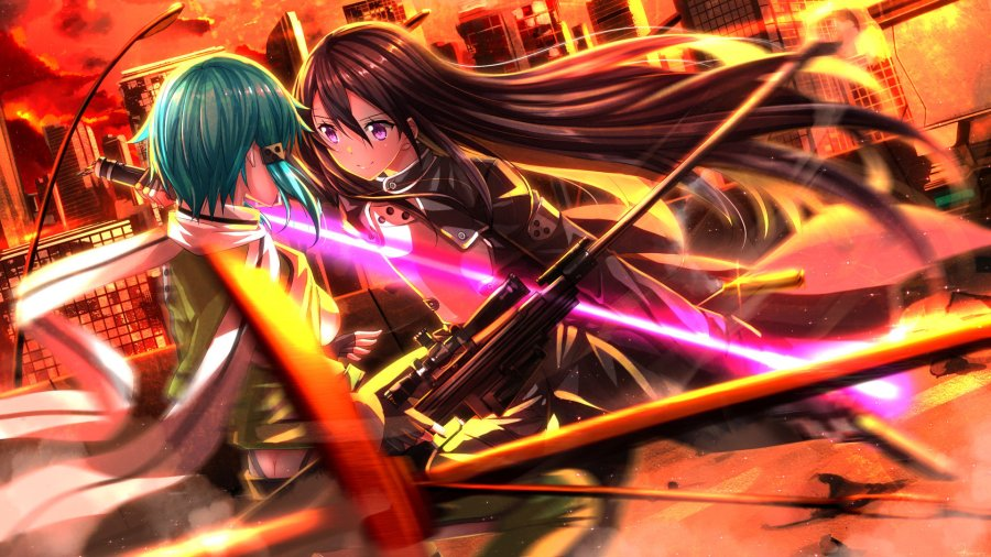 Download 1080p Sword Art Online 2  II  PC background ID 112360 for free