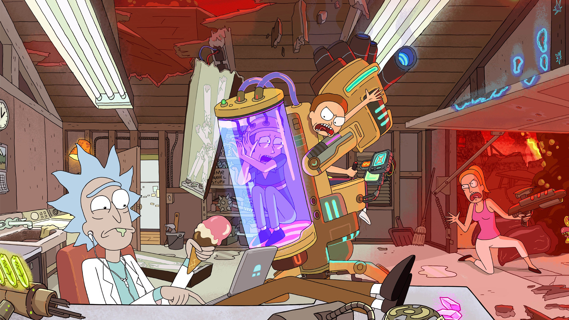 Rick And Morty wallpapers 1920x1080 Full HD  1080p  desktop backgrounds Free Rick And Morty high quality wallpaper ID 470582 for hd 1920x1080  computer