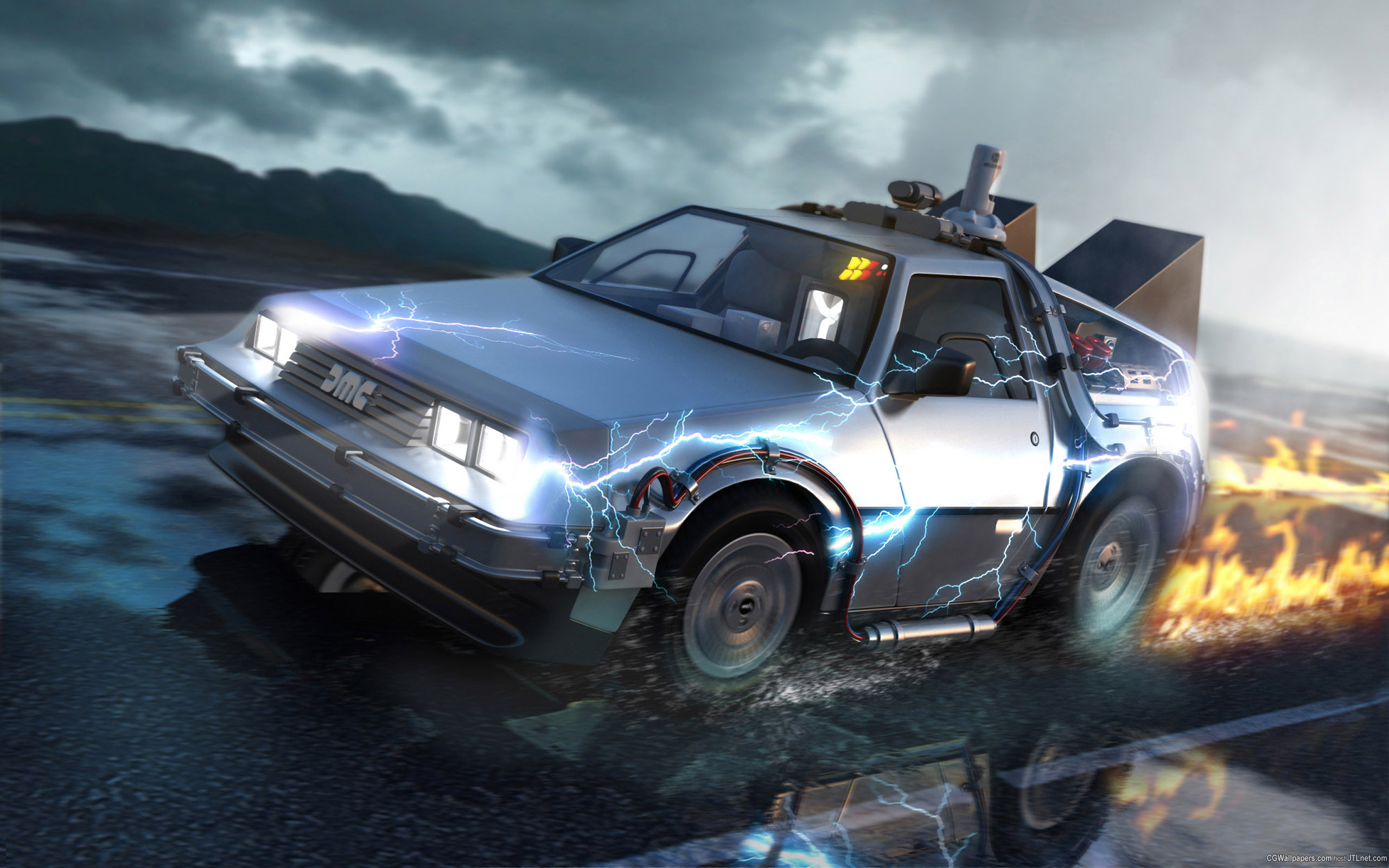 Back To The Future Hd Wallpapers For Desktop Download